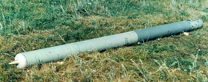 «Носатый» снаряд огнемета. /Фото: pikabu.ru