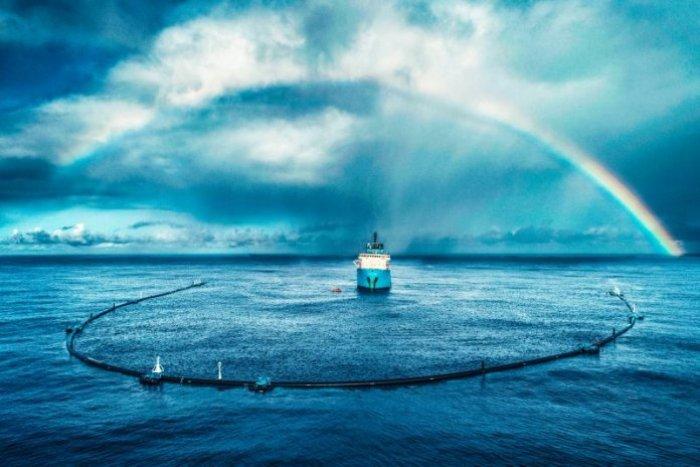 Проект The Ocean Cleanup - уникальный в своем роде. /Фото: newatlas.com