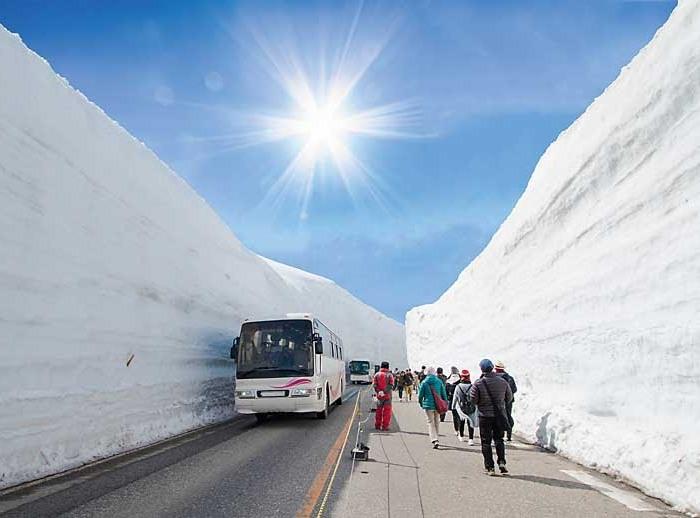 Снежное шоссе. /Фото: avtomir.ua