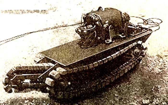 Мины применялись при подавлении восстания в Варшавском гетто. /Фото: biblio-klad.ru