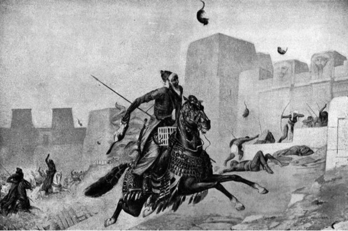 Коты помогли царю Камбизу завоевать Египет. /Фото: livejournal.com