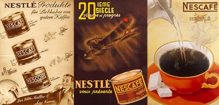 Кофе, который пили по обе стороны баррикад. /Фото: nestle.ru