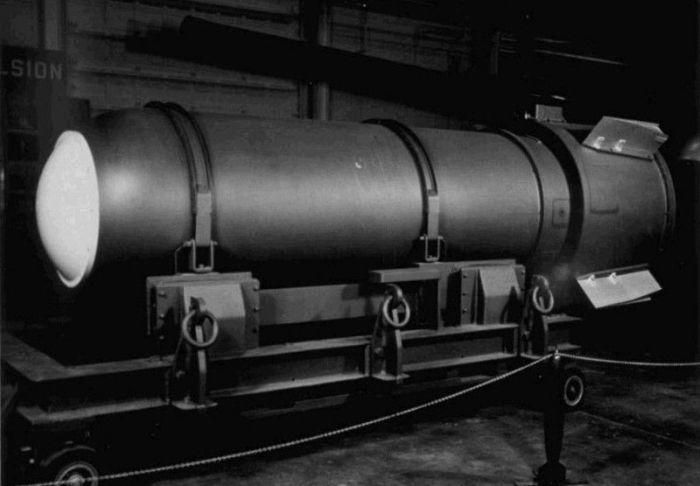 Иногда даже ядерные бомбы теряются /Фото: chrontime.com.