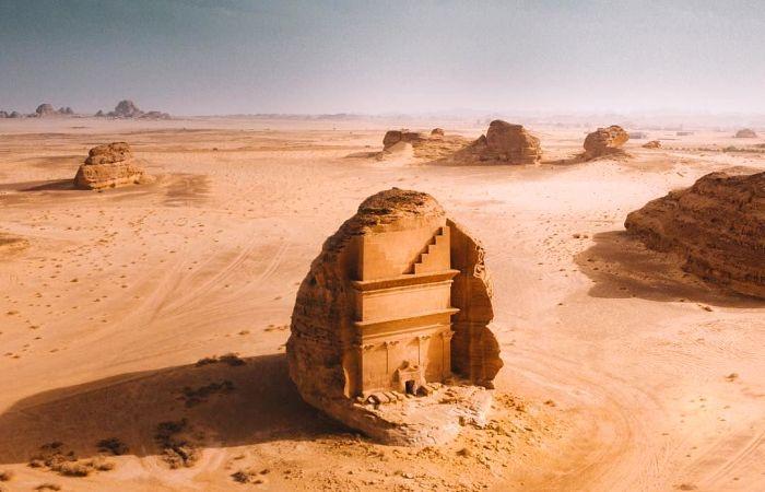 Сооружение, впечатляющее даже в недостроенном состоянии. /Фото: liveinternet.ru
