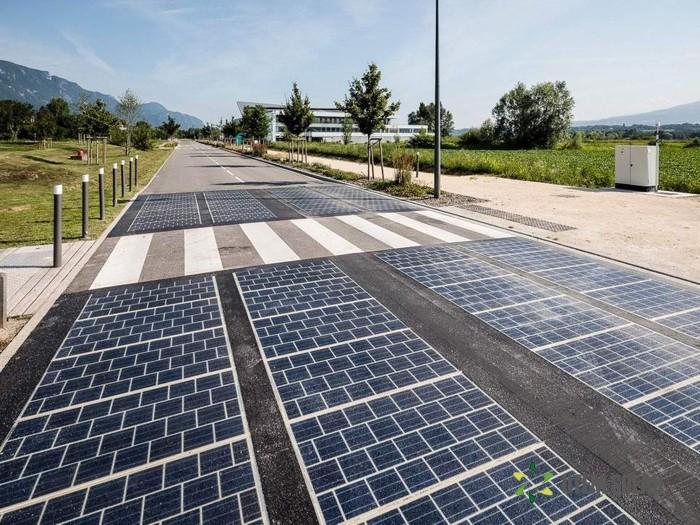 Дорога, которая вырабатывает энергию. /Фото: utem.org.ua