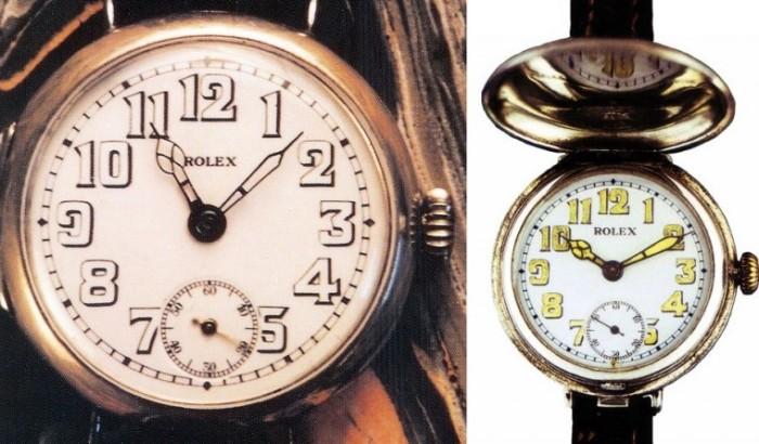 Наручные траншейные часы. /Фото: getat.ru