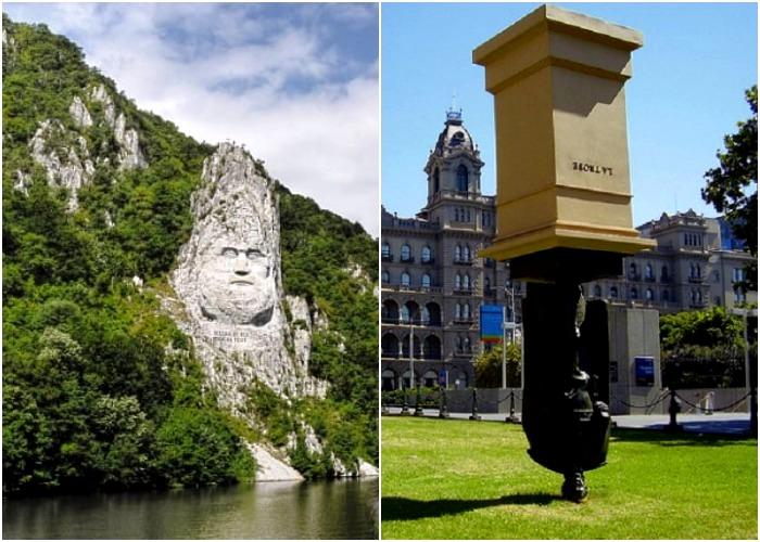 Царей и президентов можно изобразить и монументально и смешно. /Фото: set-travel.com, everest-tour.by