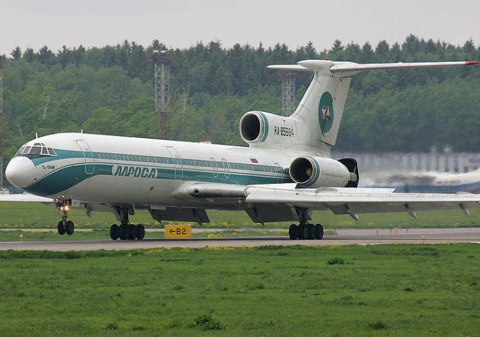 Лайнер Ту-154 за несколько лет до происшествия. /Фото: wikipedia.org
