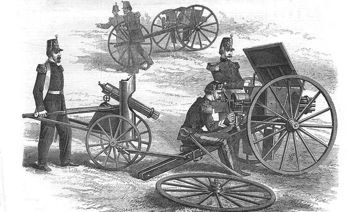 Орудие участвовало во франко-прусской войне. /Фото: alternathistory.com