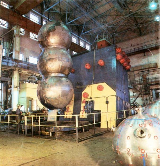 Макет внутренних сфер АС-12. /Фото: svoboda.org
