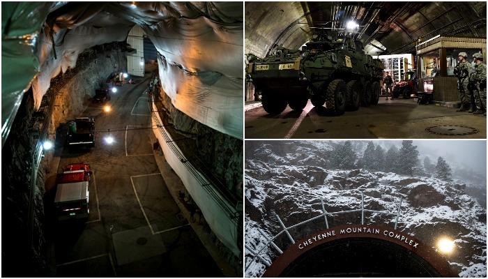 Ядерный бункер с перспективой командного пункта на случай апокалипсиса. /Фото: lenta.ru, warhead.su