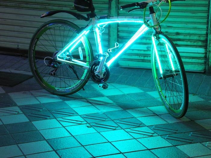 Концепт делает езду на велосипеде безопаснее. /Фото: lednews.lighting
