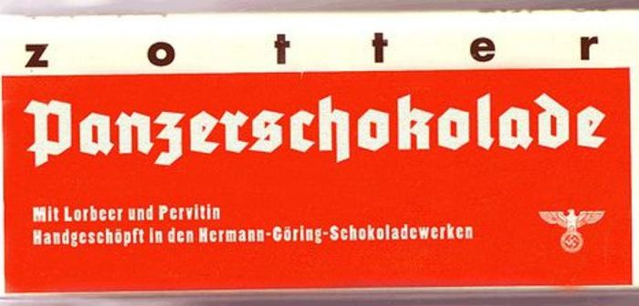 Танковый шоколад, содержащий первитин. /Фото: kartam47.livejournal.com