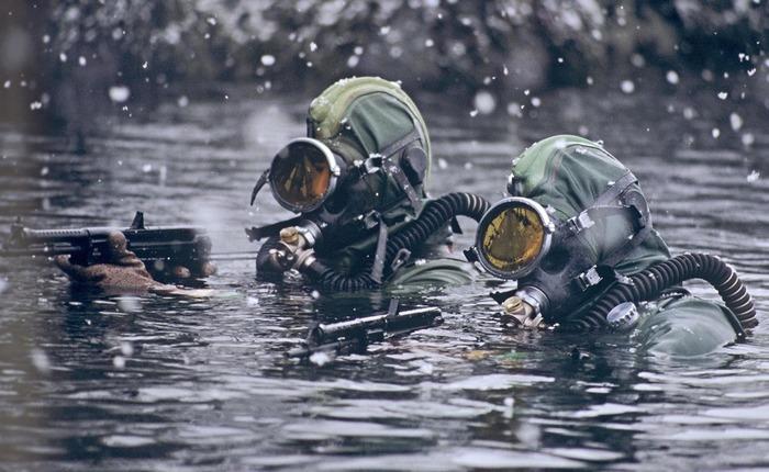 Боевые пловцы совершали подвиги и восемьдесят лет назад.