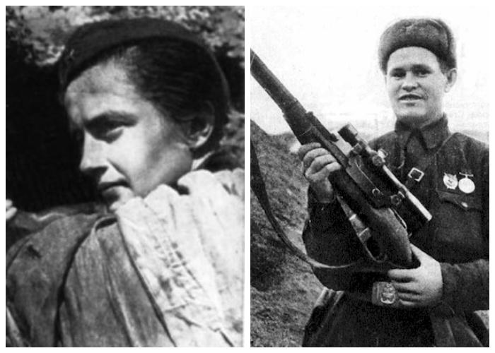 Василий Зайцев и Людмила Павличенко. /Фото: ucrazy.ru