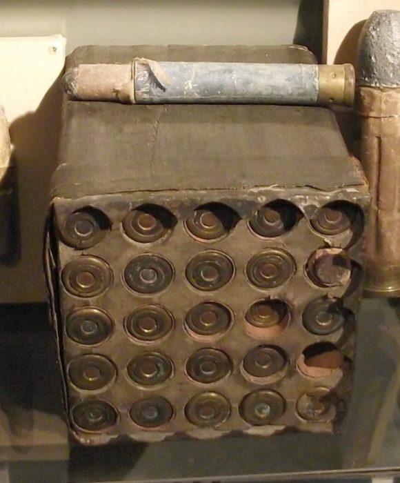 Кассета с патронами для Митральезы. /Фото: alternathistory.com