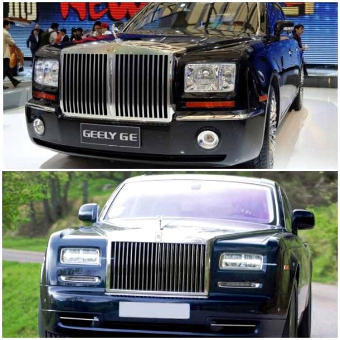 Китайская машина родом из...Англии. /Фото: es.motor1.com