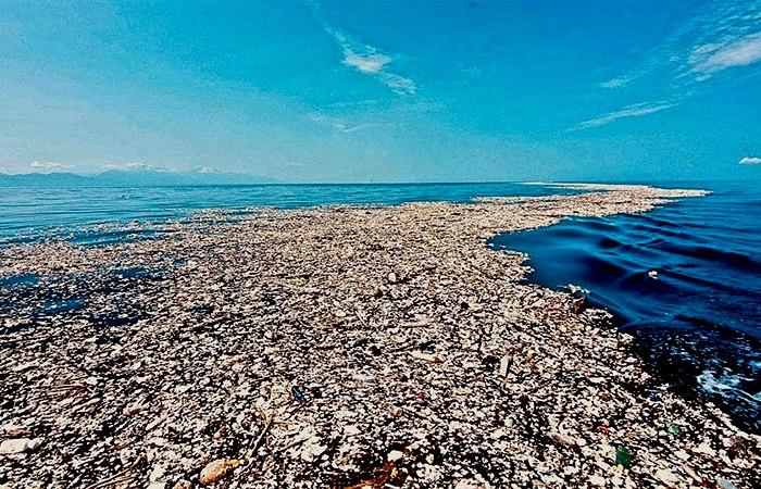 Мусорные пятна Тихоокеанского бассейна просто громадны. /Фото: Forbes.com
