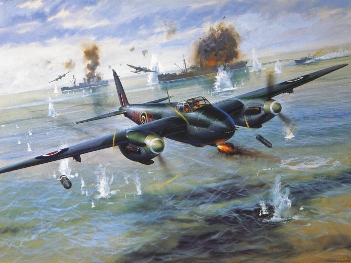 Королевский флот Великобритании успешно использовал Москито. /Фото: