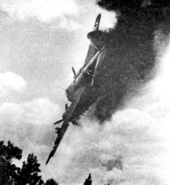 Подбитый самолёт врага стоил дорого. /Фото: history-doc.ru