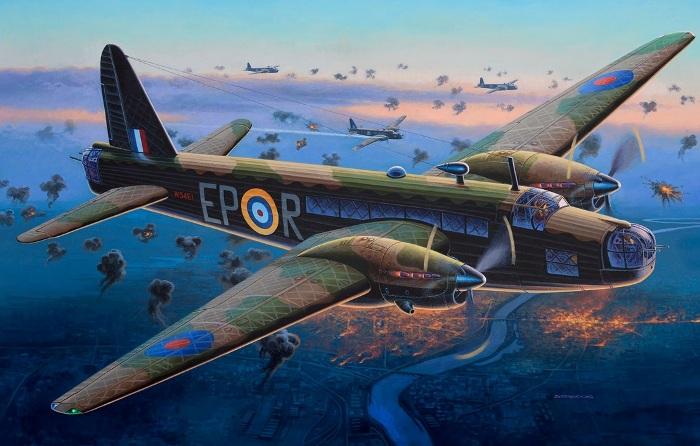 Веллингтон оказался единственным боеспособным бомбардировщиком в боевых условиях. /Фото: war-book.ru