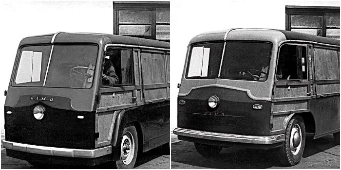НАМИ-750 и НАМИ-751 образца 1948 года. /Фото: gruzovikpress.ru