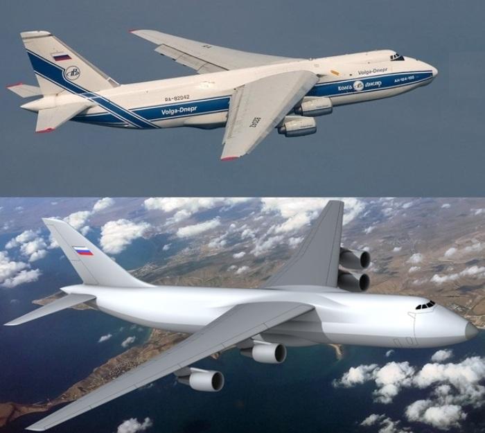 Российские авиаконструкторы разрабатывают замену Ан-124. /Фото: vpk.name