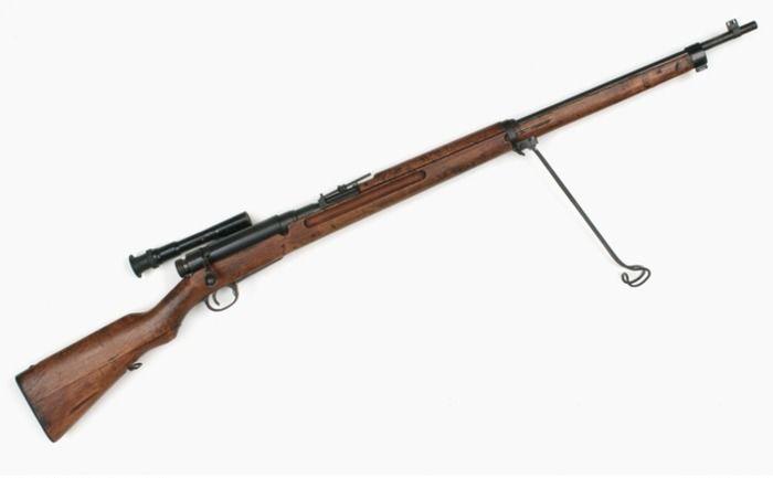 Японская снайперская винтовка Тип 97. /Фото: pinterest.com