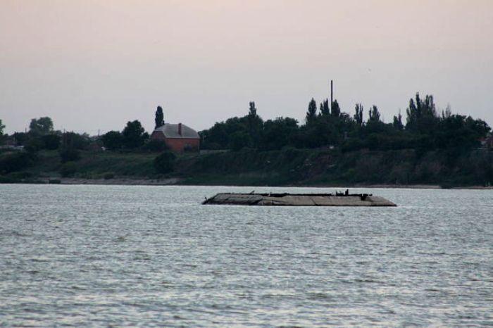 Рукотворный остров Черепаха недалеко от Таганрога. /Фото: ok.ru