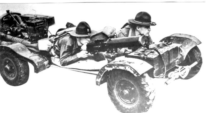 Положение водителя и пулеметчика во время езды было весьма странным. /Фото: warwheels.net