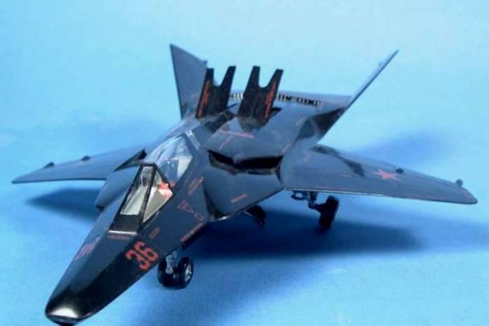 Модель несуществующего МиГ-37Б выглядит очень реалистично. / Фото: topwar.ru