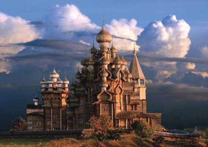 Уникальный памятник деревянной архитектуры. /Фото: pinterest.com