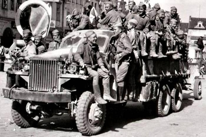 В СССР Studebaker US6 поставлялись очень активно. /Фото: laguerratotal.com