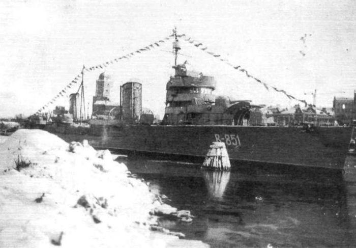 Бывший лидер эсминцев а качестве учебного корабля. /Фото: alternathistory.com