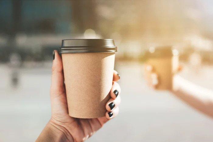Раньше кофе на вынос был редкостью. /Фото: mintylife.ru