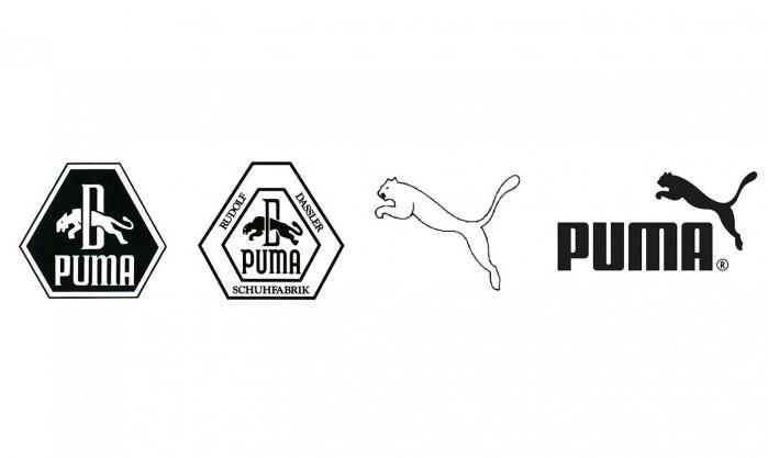 Логотип Puma претерпел изменения, но легендарный зверь в прыжке так и остался. /Фото: puma-catchup.com
