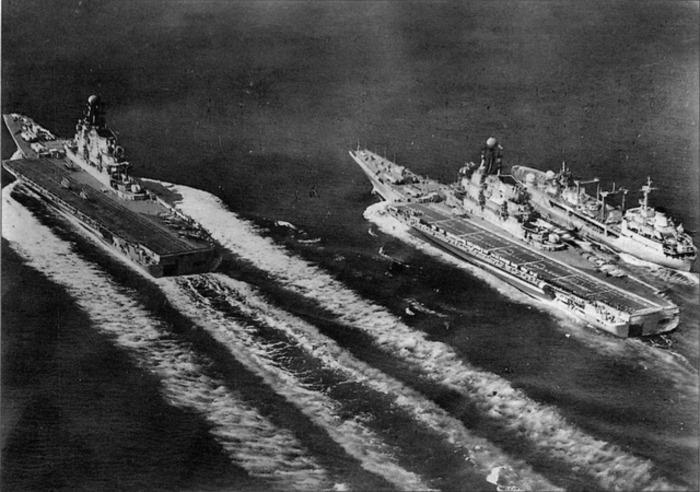 В 1940-х годах авианосцев в составе ВМФ СССР не было. /Фото: livejournal.com