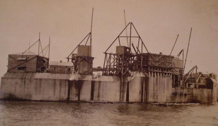 Форт должен был стать частью укреплений Манильского залива. /Фото: worldofwarships.ru