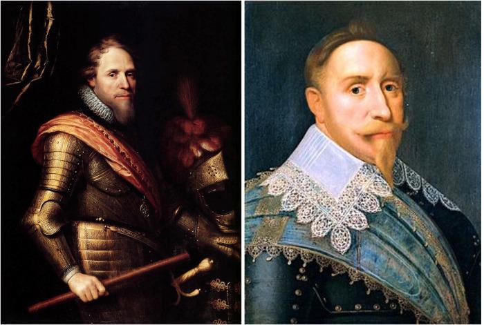 Реформаторы Густав II Адольф и Мориц Оранский. /Фото: wikipedia.org