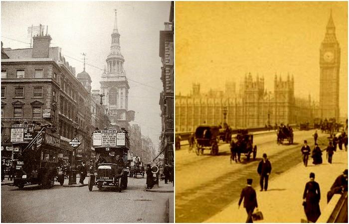 Лондон на рубеже 19-20 столетий. /Фото: wikiрedia.org