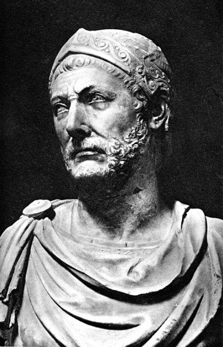 Великий Ганнибал был одним из первых, кто прибег к биологическому оружию. /Фото: Wikipedia.org
