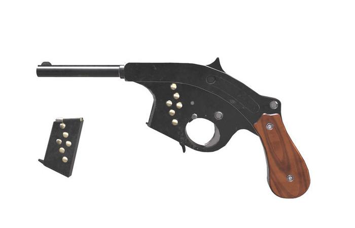 Редчайший и необычный шведский пистолет. /Фото: pinterest.de