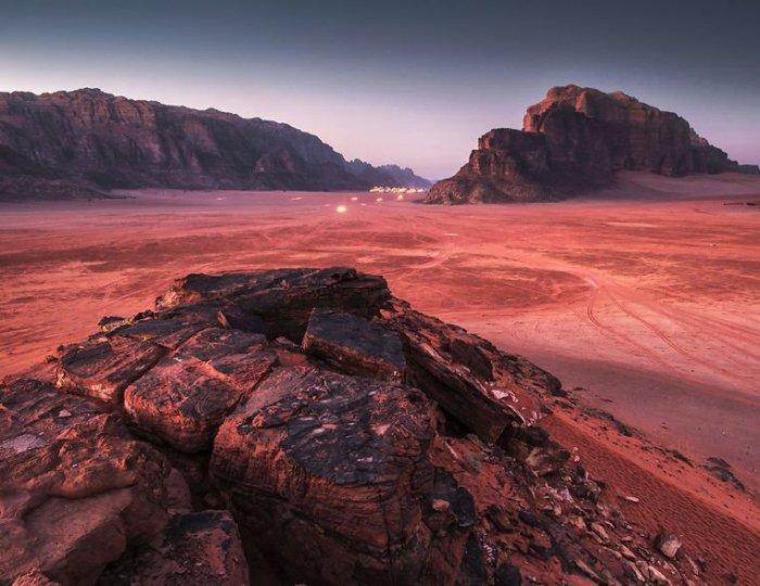 Пустыня Вади Рам. /Фото: bugaga.ru