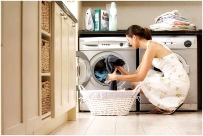 Сегодня, благодаря машине-автомату стирать стало не просто удобно, но даже приятно. /Фото: vilingstore.net