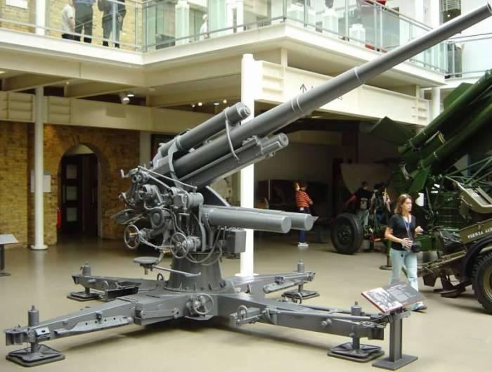 Создание немецкого зенитного оружия велось полулегально. /Фото: Wikipedia.org