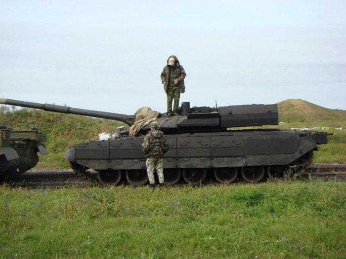 Во время испытаний. /Фото: militaryrussia.ru