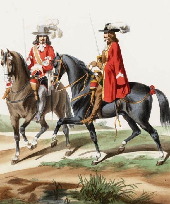 Королевские гвардейцы. /Фото: diletant.media