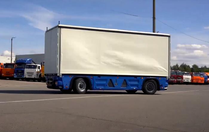 На беспилотном грузовики КАМАЗ не остановится. /Фото: sdelanounas.ru