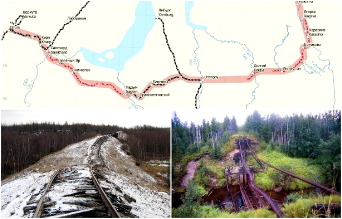 Крупнейший железнодорожный проект Сталина может получить билет в жизнь. /Фото: content.onliner.by, livejournal.com