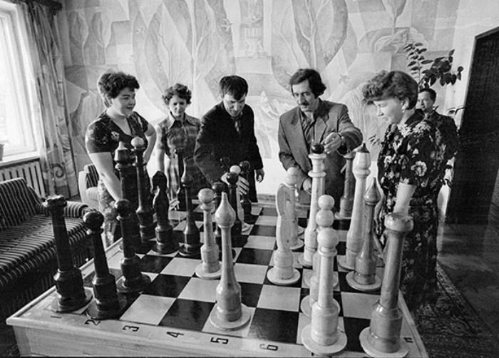 Советский период - эпоха расцвета шахмат среди населения. /Фото: topast.ru